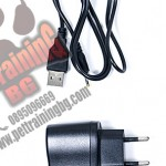 Recharge AC adapter unit (USB cable + adapter) EU plug